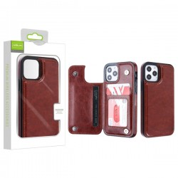 Airium Stow Wallet Case for Apple iPhone 12 (6.1) / iPhone 12 Pro (6.1)
