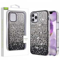Crystals Sparks Case for APPLE iPhone 12 Pro Max (6.7) - Black Gradient
