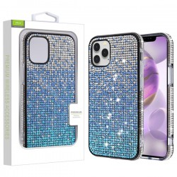 Crystals Sparks Case for APPLE iPhone 12 Pro Max (6.7) - Blue Gradient