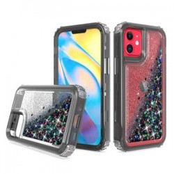 "PREMIUM STRONG GLITTER QUICK SAND CASE #01 - FOR IPHONE 12 (5.4"")"