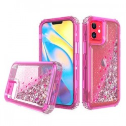 "PREMIUM STRONG GLITTER QUICK SAND CASE #05 - FOR IPHONE 12 (5.4"")"