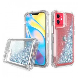 "PREMIUM STRONG GLITTER QUICK SAND CASE #08 - FOR IPHONE 12 (5.4"")"