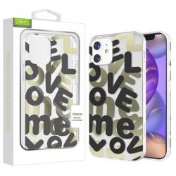 Airium Love Me Fusion Protector Case for Apple iPhone 12 mini (5.4) - Black