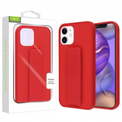 Airium Hybrid Case (with Foldable Stand) for APPLE iPhone 12 (5.4) - Red