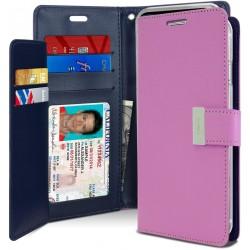 Goospery Rich Diary iPhone 13 (6.1) - Purple