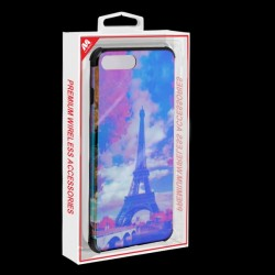 MYBAT Eiffel Tower/Black Hologram Protector Cover (with Package)