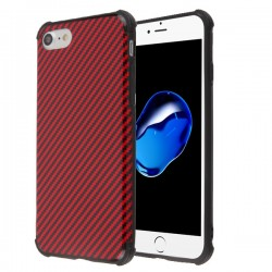 MYBAT Red Carbon Fiber Texture/Black Hologram Protector Cover (with Package)