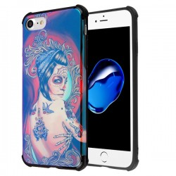 MYBAT Girl Tattoo/Black Hologram Protector Cover (with Package)