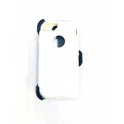 O++ER CASE WITH HOLSTER FOR IPHONE 6/7/8 - WHITE