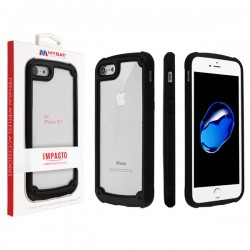 MYBAT Black Impacto Hybrid Protector Cover (with Package) for iPhone 7/8