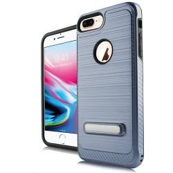 Brushed Metallic W/Edge and Kick for iPhone 7 PLUS/8 PLUS