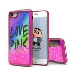 Liquid Quick Sands (Rainbow Love Pink) for IPHONE 7/8
