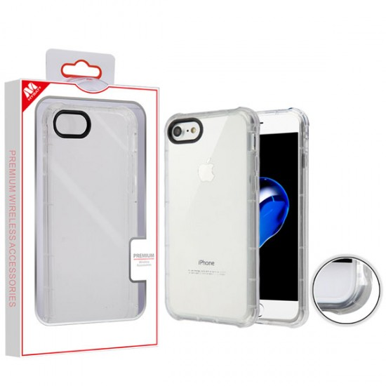 Corner Guard Candy Skin Cover for APPLE iPhone 8/7 - Transparent Clear