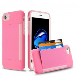MYBAT Pink/Soft Pink Poket Hybrid Protector Cover (with Back Film)(with Package)