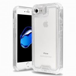 Hybrid Protector Cover for APPLE iPhone 8/7 - Transparent Clear / Transparent Clear
