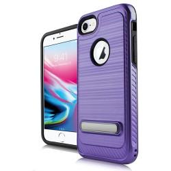 Brushed Metallic W/Edge and Kick for iPhone 7/8