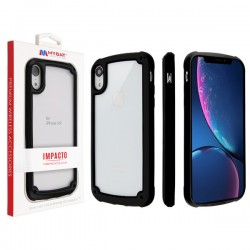 MYBAT Black Impacto Hybrid Protector Cover (with Package) for iPhone X/XS