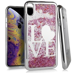 Chrome Glitter Motion Case for iPhone XS MAX #20S