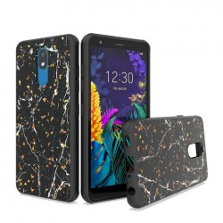 Chrome Glitter Glitter Case Design #5 For LG Aristo 4 Plus