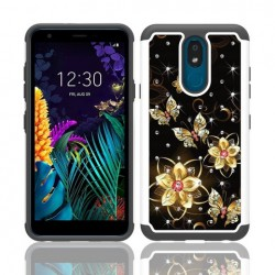 Hybrid Dazzling w/ Design, #070 For LG Aristo 4 Plus