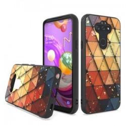 Chrome Glitter Glitter Case for LG Aristo 5 Design #3