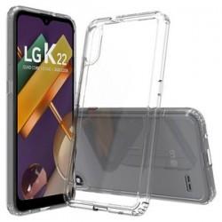 LG K22 Premiun Tpu case, Clear