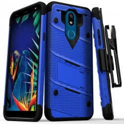 BOLT CASE WITH BUILT IN KICKSTAND AND HOLSTER BELT CLIP For LG K40