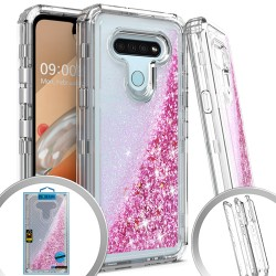 3 IN 1 LG K51 Glitter Motion for LG K51 - Clear