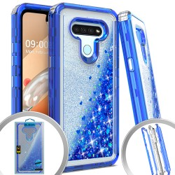 3 IN 1 LG K51 Glitter Motion for LG K51 - Blue