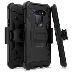 Heavy Duty Tactical Combo for LG K51 - Black