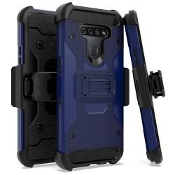 Heavy Duty Tactical Combo for LG K51 - Dark Blue