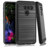LG G8 ThinQ Brushed Case Black