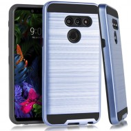LG G8 ThinQ Brushed Case Navy Blue
