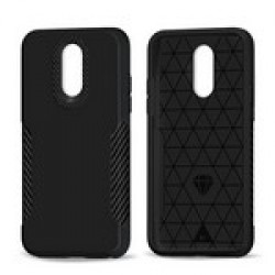 Carbon Fiber Premium Hybrid for LG Q7