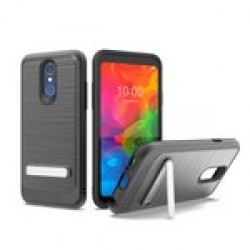 BRUSHED METALLIC W/ EDGE AND KICK FOR LG Q7_BLACK