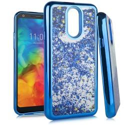 Chrome Glitter Motion Case for LG Q7 PLUS