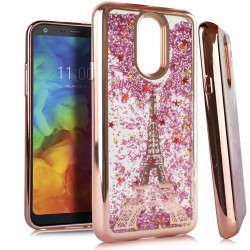 Chrome Glitter Motion Case for LG Q7 PLUS #33RG