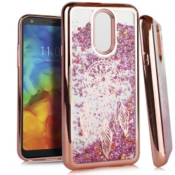 Chrome Glitter Motion Case for LG Q7 PLUS #35RG