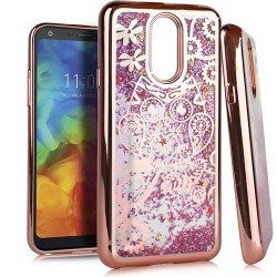 Chrome Glitter Motion Case for LG Q7 PLUS #38RG