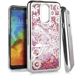 Chrome Glitter Motion Case for LG Q7 PLUS #38S