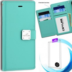Luxurious Synthetic PU Leather 6 Card Slots Infolio for LG stylo5