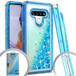 3 IN 1 Glitter Motion for LG STYLO 6 - Teal