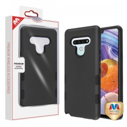 Mybat TUFF Subs Hybrid Case (with Package) for LG Stylo 6 Rubberized Black/Black