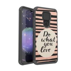 MetKase Fashion Design ShockProof Case For Motorola Moto G Play 2021 - Do What You Love
