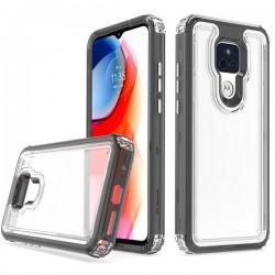 Premium Strong 3 IN 1 Case for Motorola G Play 2021 - Black