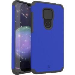 MetKase Original ShockProof Case For Motorola Moto G Play 2021 - Classic Blue