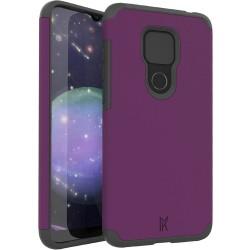 MetKase Original ShockProof Case For Motorola Moto G Play 2021 - Magenta Purple