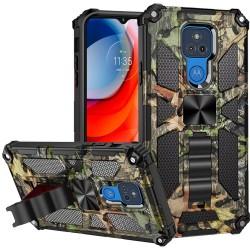 Machine Design Magnetic Kickstand Case For Motorola Moto G Play 2021 - Camo Jungle