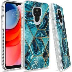 Trendy Fashion Design Hybrid Case For Motorola Moto G Play 2021 - Universe