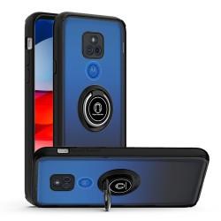 Magnetic RingStand Case For Motorola Moto G Play 2021 - Black